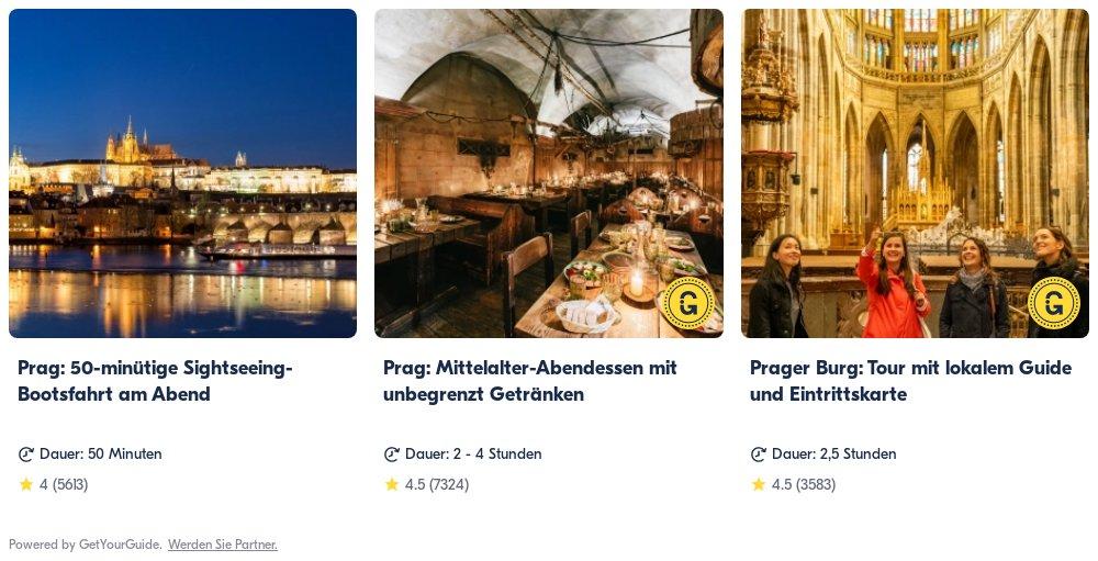 Prag: Get Your Guide