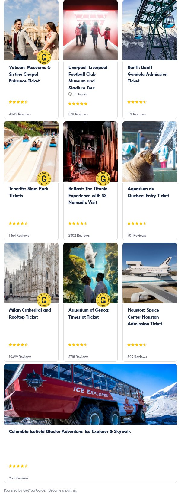 barcelona: Get Your Guide