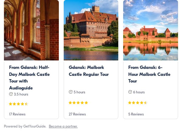 Malbork: Get Your Guide