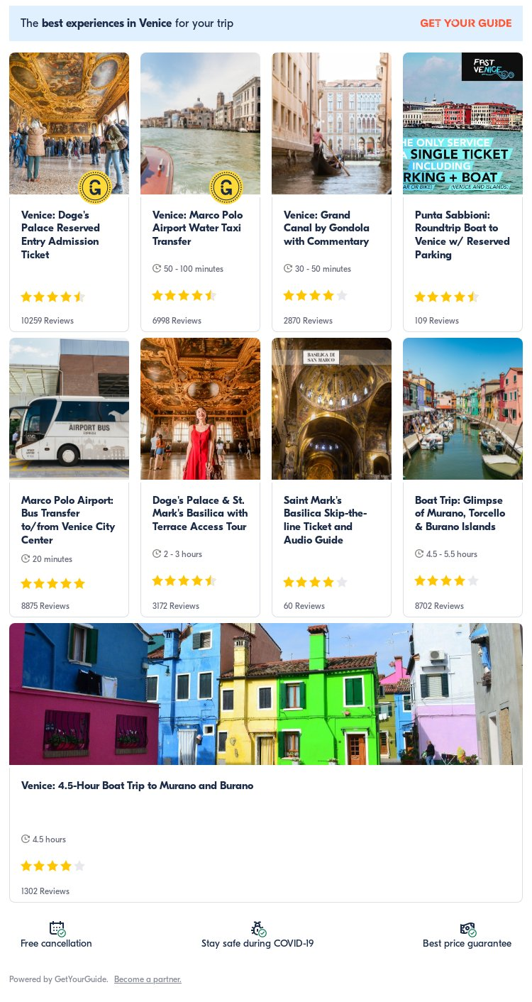 Venice: Get Your Guide