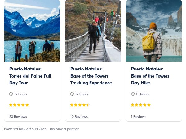 Puerto Natales: Get Your Guide