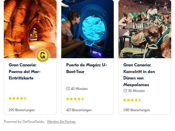 Gran Canaria: Get Your Guide