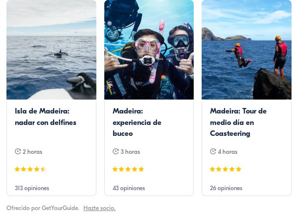 madeira buceo: Get Your Guide