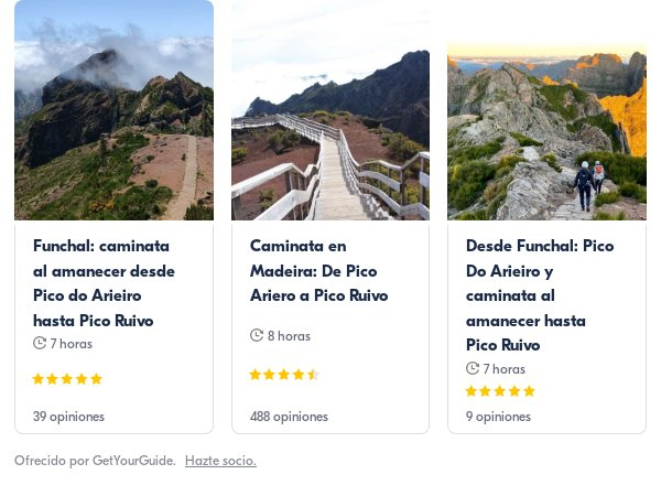 pico ruivo: Get Your Guide