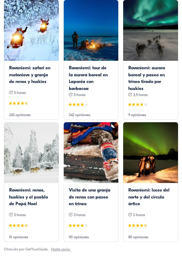 rovaniemi: Get Your Guide