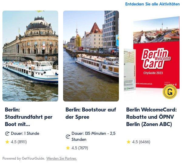 berlin: Get Your Guide