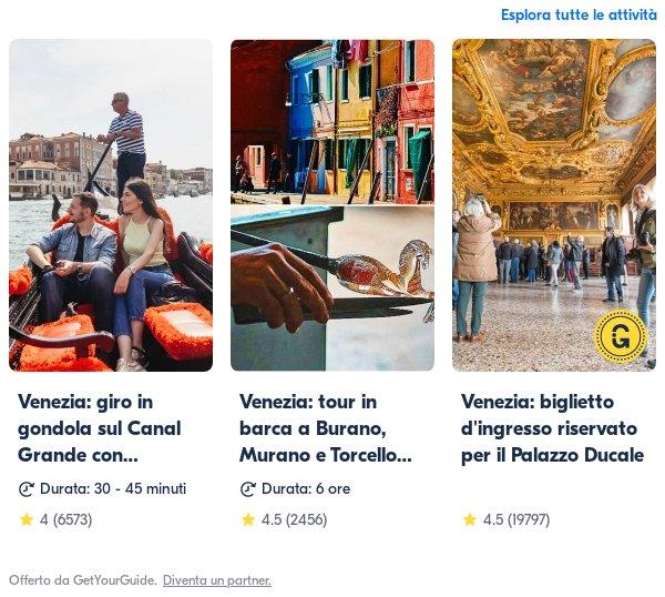 venezia: Get Your Guide