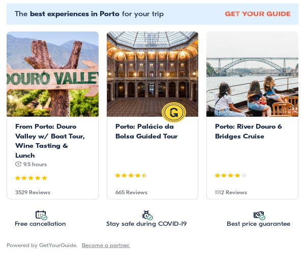 porto: Get Your Guide