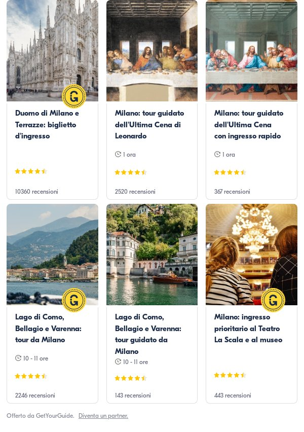 Milano: Get Your Guide