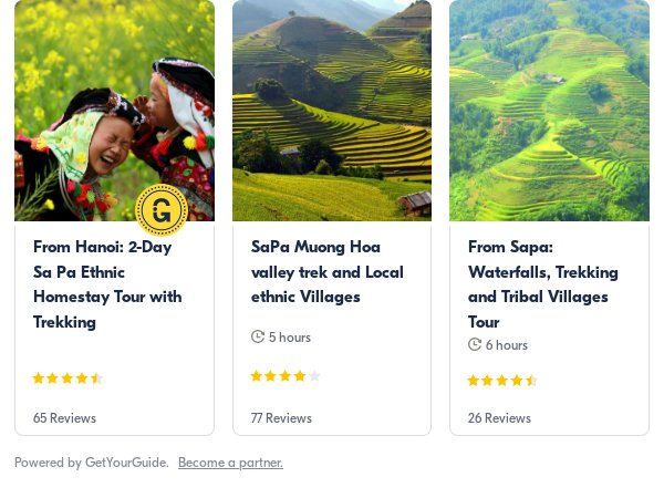 sapa: Get Your Guide