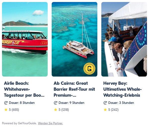 Australien: Get Your Guide
