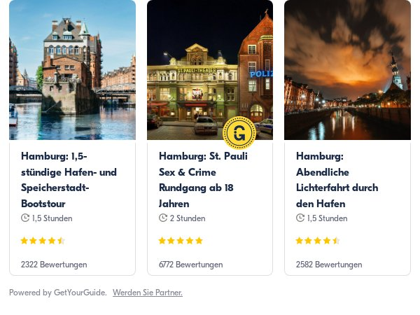 Hamburg: Get Your Guide