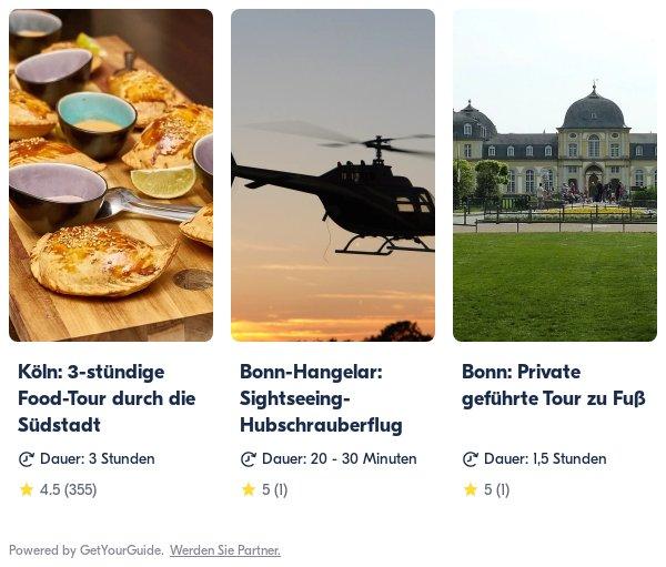 Köln/Bonn: Get Your Guide