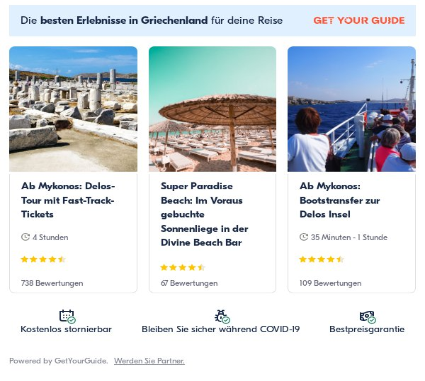 Mykonos: Get Your Guide