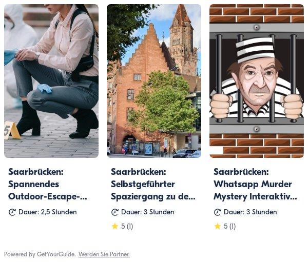 Saarbrücken: Get Your Guide