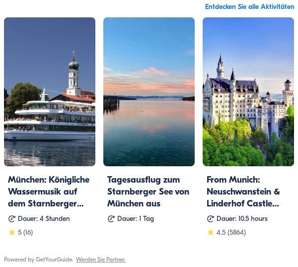 Starnberg: Get Your Guide