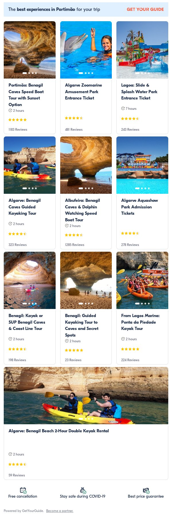 Algarve: Get Your Guide