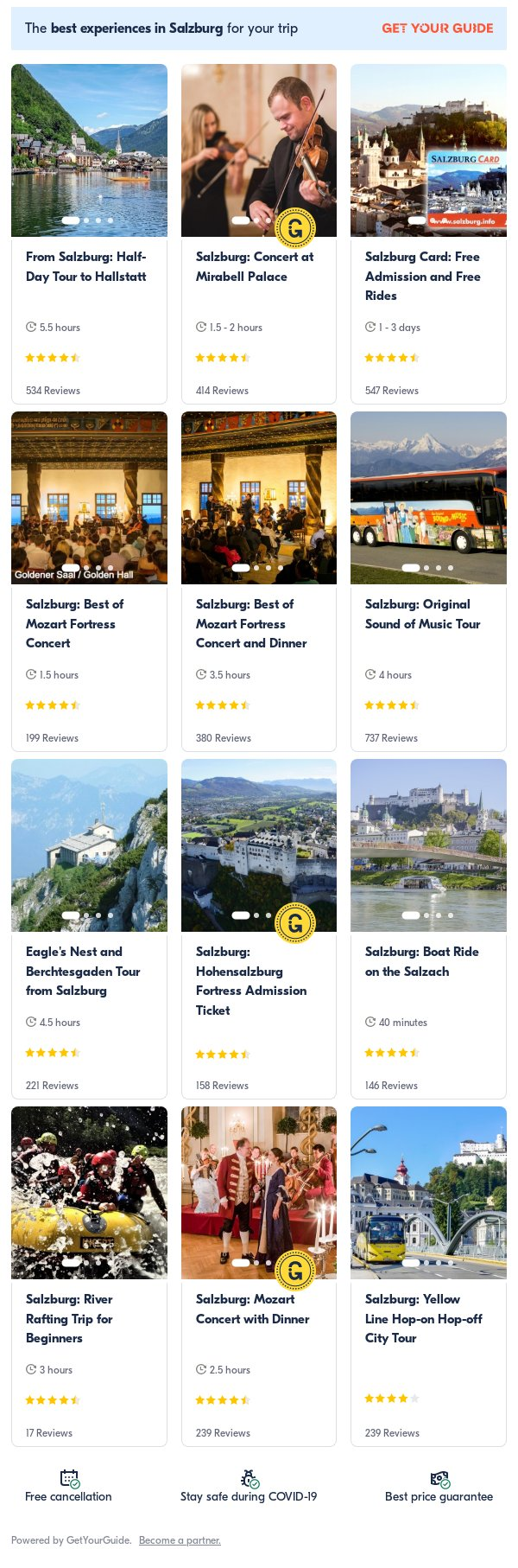 Salzburg: Get Your Guide