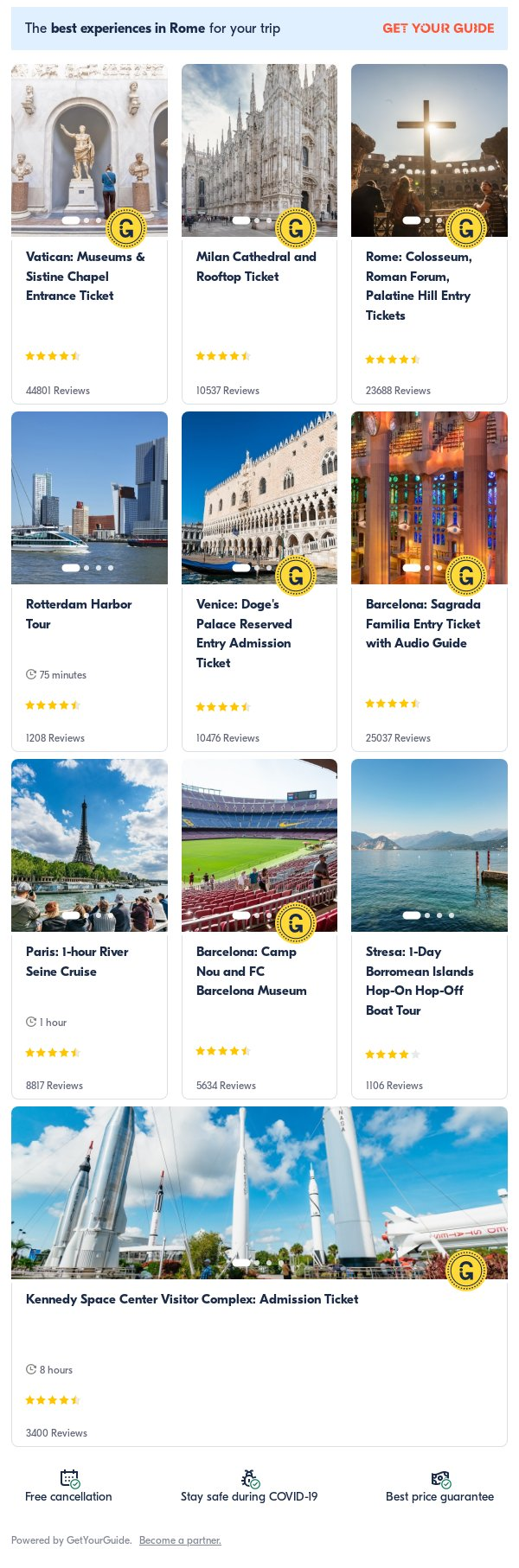 india: Get Your Guide